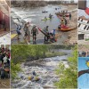 Editorial Photography – Fort Collins Public Art, Paddling and Racing