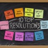 New Year Resolutions and Goals in Royalty Free Pictures