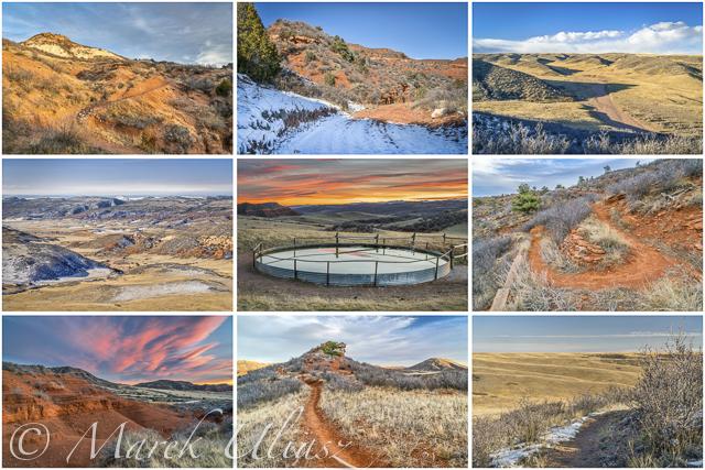 Colorado landscape from fat bike